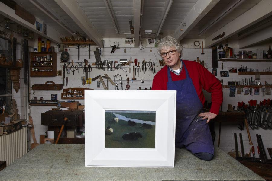_MG_4316_lijstenmaker_meubelmaker_Paul_Berkhout_met_Mondriaan ©2015 Studio Johan Nieuwenhuize